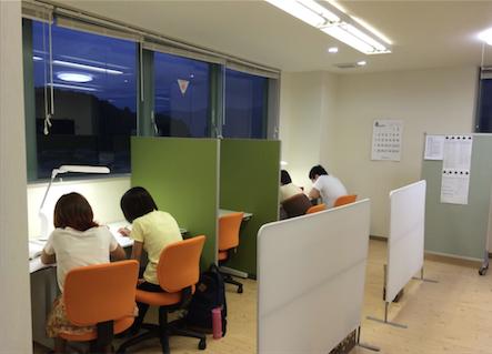 家庭教師のオアシス丸山教室授業風景